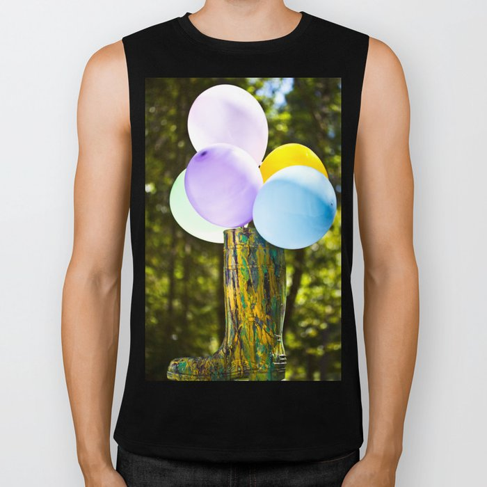 Boot And Balloons Biker Tank