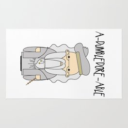 A-DUMBLEDORE-ABLE.  Rug