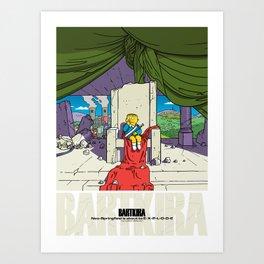 Bartkira / Neo-Springfield Poster  Art Print