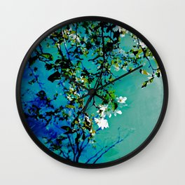 Spring Synthesis IV Wall Clock