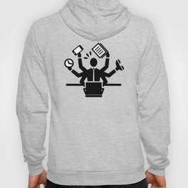 Business Man Busy Hoody