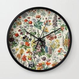 Fleurs Adolphe Wall Clock