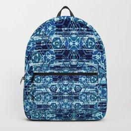 Boho Batik Blues Backpack
