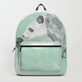 Flower Panda Backpack