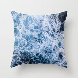 Open Ocean Throw Pillow