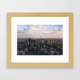 One Bloor Framed Art Print