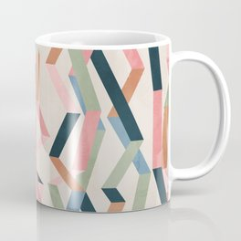 Straight Geometry Ribbons 1 Coffee Mug