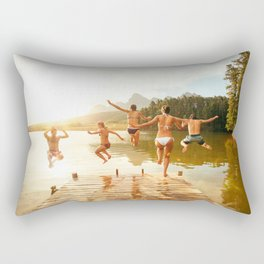 Hot Summer Trip ||I||I| Rectangular Pillow