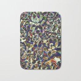 Floral tribute [pebble mix] Bath Mat
