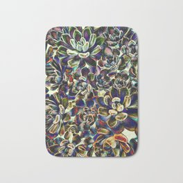 Floral tribute [pebble mix] Bath Mat