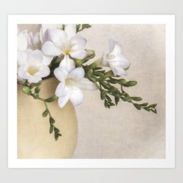 Freesia Art Print