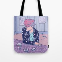 bar Tote Bags featuring Bar by - OP -