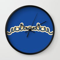 milwaukee Wall Clocks featuring milwaukee test by spud muther