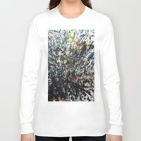 splatter Long Sleeve T-shirts featuring Splatter by Magma