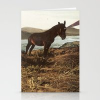 pony Stationery Cards featuring PONY by KELLY SCHIRMANN