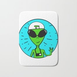 Storm Area 51 They Cant Stop All of Us Alien March Bath Mat