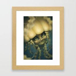 Sea Jelly Framed Art Print