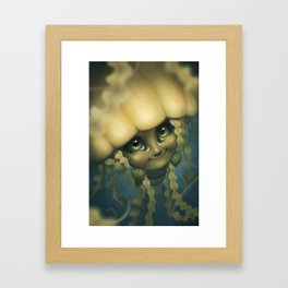 Sea Jelly Framed Art Print