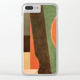 Soccer in the Sand Clear iPhone Case