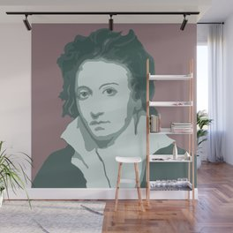 Percy Bysshe Shelley Wall Mural