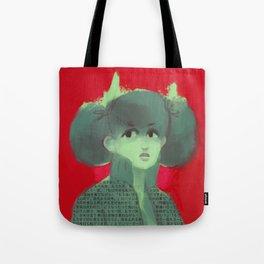 Edgy Girl Tote Bag