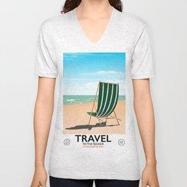 "TRAVEL ""To the seaside"" Unisex V-Neck"