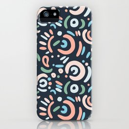 Funny doodle iPhone Case