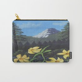 Lemon Lilies Return to Idyllwild Carry-All Pouch
