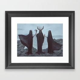 Unholy Trinity Framed Art Print