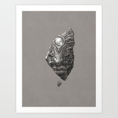 The Finding Art Print