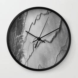 biscuit basin or just squiggles Wall Clock