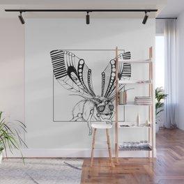 Lazy moth Wall Mural