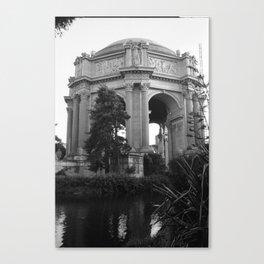 Palace of Fine Arts, San Francisco Canvas Print
