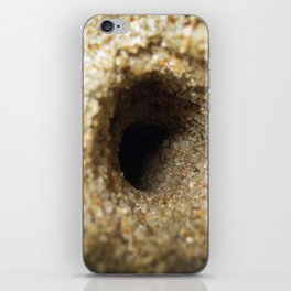 Rabbit Hole of the Beach iPhone Skin