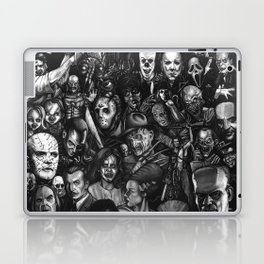Classic Horror Guice Laptop & iPad Skin