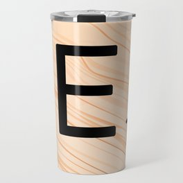 Scrabble E - Large Scrabble Tiles Travel Mug