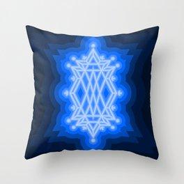 Lapus Lazuli Throw Pillow
