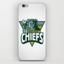 Forest Moon Chiefs iPhone Skin