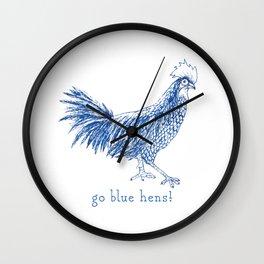 Go Blue Hens! Wall Clock