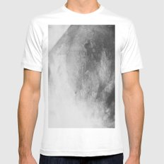 Crystal Mens Fitted Tee MEDIUM White