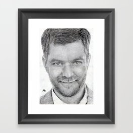 Joshua Jackson ~ Peter Bishop Framed Art Print