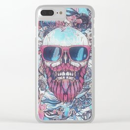 Mr. Cool Clear iPhone Case