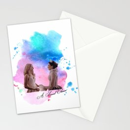 swan queen: second chance Stationery Cards