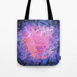 Pinkish Swipes Tote Bag