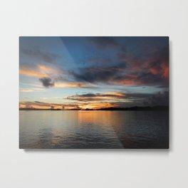 Palau Sunrise Metal Print