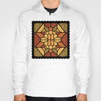 sacred geometry Hoodies featuring Sacred geometry - Voronoi by Enrique Valles