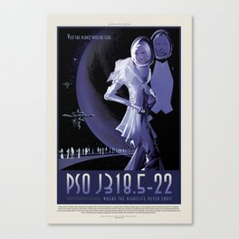 PSO J318.5-22 - NASA Space Travel Poster Canvas Print