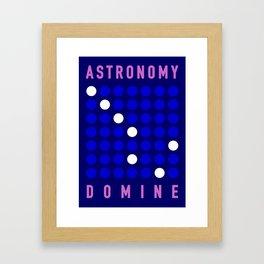 ASTRONOMY DOMINE Framed Art Print