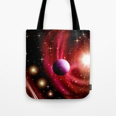 Stardust and solar wind. Tote Bag