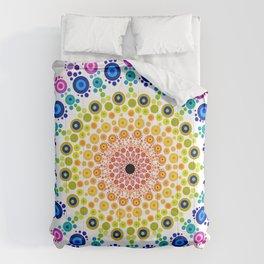 Rainbow Mandala 31218 Comforters